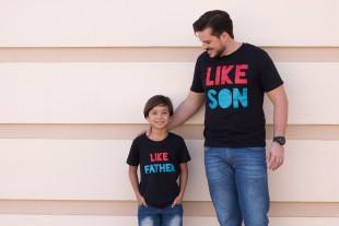 Pai você é exemplo para o seu filho!