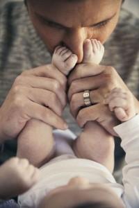 E cheirinho do bebê?
